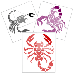 Scorpion Car Stickers and Decals