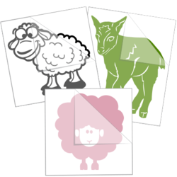 Sheep & Lamb Car Stickers and Decals