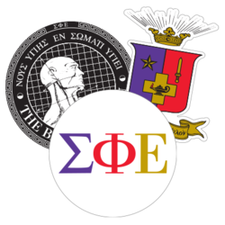 Sigma Phi Epsilon Car Stickers and Decals