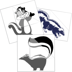 Skunk Car Stickers and Decals