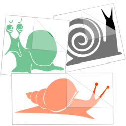 Snail Car Stickers and Decals