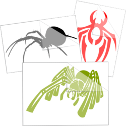 Spider Car Stickers and Decals