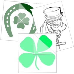 Saint Patrick's Day Car Stickers and Decals