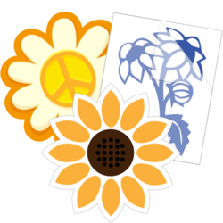 Sunflower Car Stickers and Decals