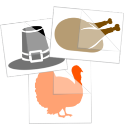 Thanksgiving Car Stickers and Decals