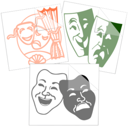 Theatre Car Stickers and Decals