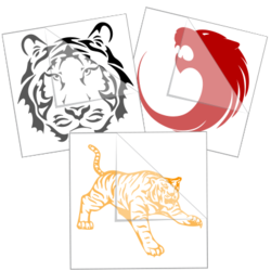 Tiger Car Stickers and Decals