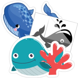 Whale Stickers and Decals
