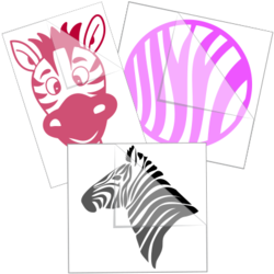 Zebra Car Stickers and Decals