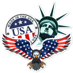 USA America Car Stickers And Decals
