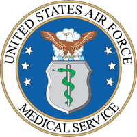 Air Force Medical Service Seal Magnets