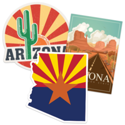 Arizona Car Stickers and Decals