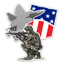 US Armed Forces Stickers and Decals