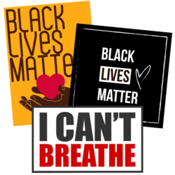 Black Lives Matter Car Stickers and Decals