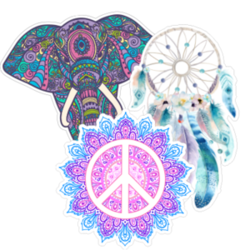Boho Car Stickers and Decals