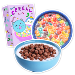 Cereal Car Stickers and Decals