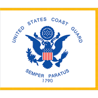 Coast Guard Flag Magnets