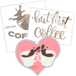 Coffee Car Stickers and Decals