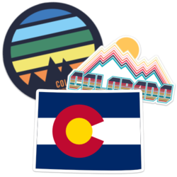 Colorado Car Stickers and Decals