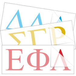 Something Greek Letter Generator.Greek Sorority Fraternity Symbol Stickers Decals