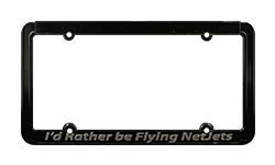 Custom Raised Lettering Die Cast Zinc Frames