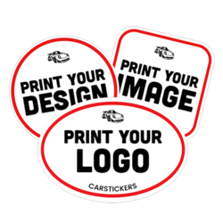 photograph regarding Printable Vinyl Decal Instructions named - Large high-quality customized stickers decals