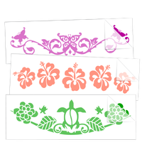 Decorative Border Car Stickers and Decals