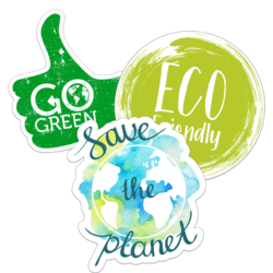 Environment and Eco-Friendly Car Stickers and Decals