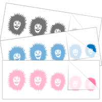 Eskimo Hoodie Family Stick Figure Stickers and Decals