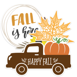 Fall Car Stickers and Decals