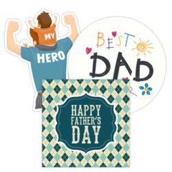 Father's Day Car Stickers and Decals