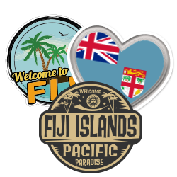 Fiji Car Stickers and Decals