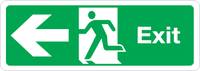 Fire Exit Sign Magnets