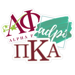 Greek Sorority & Fraternity Stickers and Decals