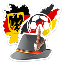 Germany Car Stickers and Decals