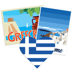 Greece Car Stickers and Decals