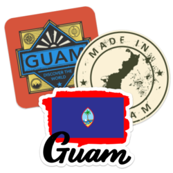 Guam Car Stickers and Decals