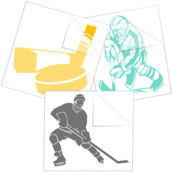 Hockey Car Stickers and Decals