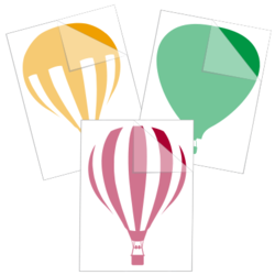 Hot Air Balloon Car Stickers and Decals