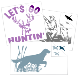 Hunting Car Stickers and Decals