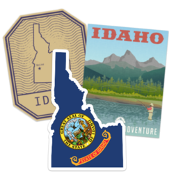Idaho Car Stickers and Decals
