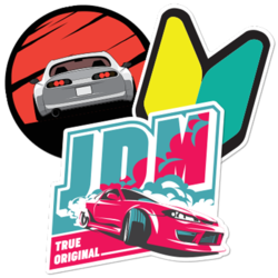 JDM Car Stickers and Decals