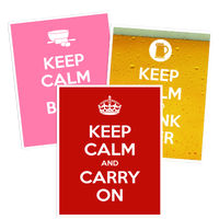 Keep Calm Car Stickers and Decals