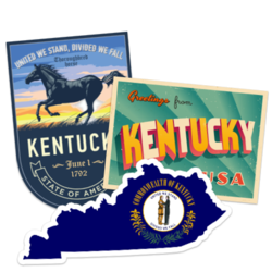 Kentucky Car Stickers and Decals