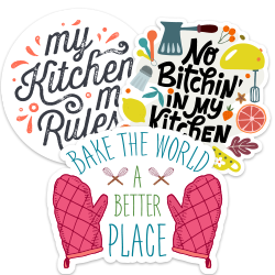 Kitchen Car Stickers and Decals