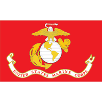 Marine Corps Flag Magnets