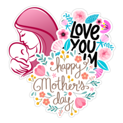 Mother's Day Car Stickers and Decals