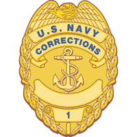 Navy Badge Magnets