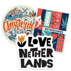 Netherlands Car Stickers and Decals