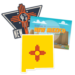 New Mexico Car Stickers and Decals